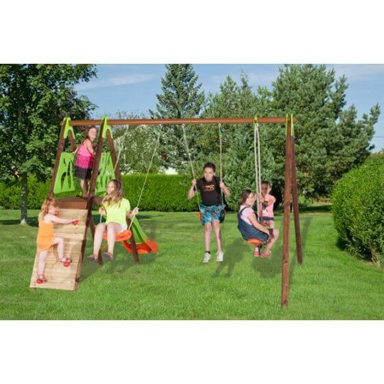 CHURRO Dječje igralište drvo-metal 2,30 m