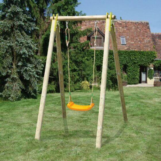 DOLLY drveno igralište s 1 igračkom 1,90 m