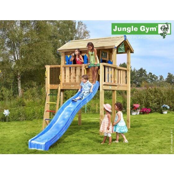 Jungle Playhouse XL (s velikom terasom)