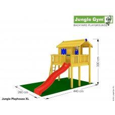 Jungle Playhouse XL (s velikom terasom)