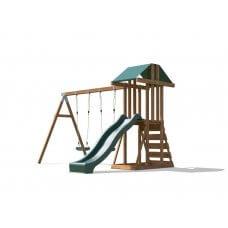 JUNIORFORT TOWER WITH WAVE SLIDE dječje igralište