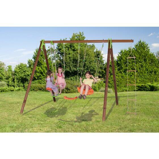 DEKO Dječje igralište drvo-metal 2,30 m