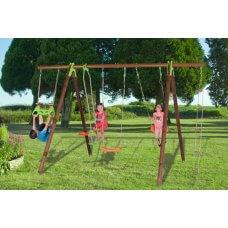 BAYANO Dječje igralište drvo-metal 2,30 m