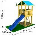 Jungle Hut | Dječja igrališta, ljuljačke i tobogani | Webshop | Prodaja