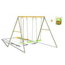 NAJA Dječje igralište/ljuljačka metal 2,20 m