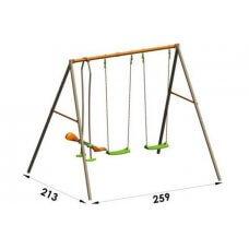 AIDA Dječje igralište/ljuljačka metal 2,20 m