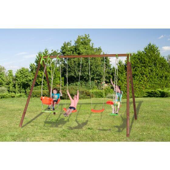 BONGO Dječje igralište drvo-metal 2,30 m